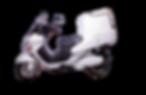 elektrische cargo scooter