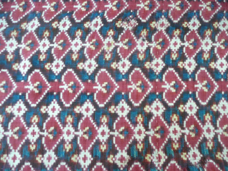 10th February 2021: Members' Collections: Claude Delmas talks about her ikat collections