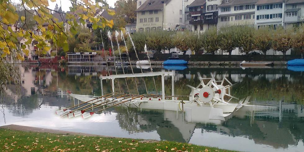 Kultur-Happening auf und am Rhein
