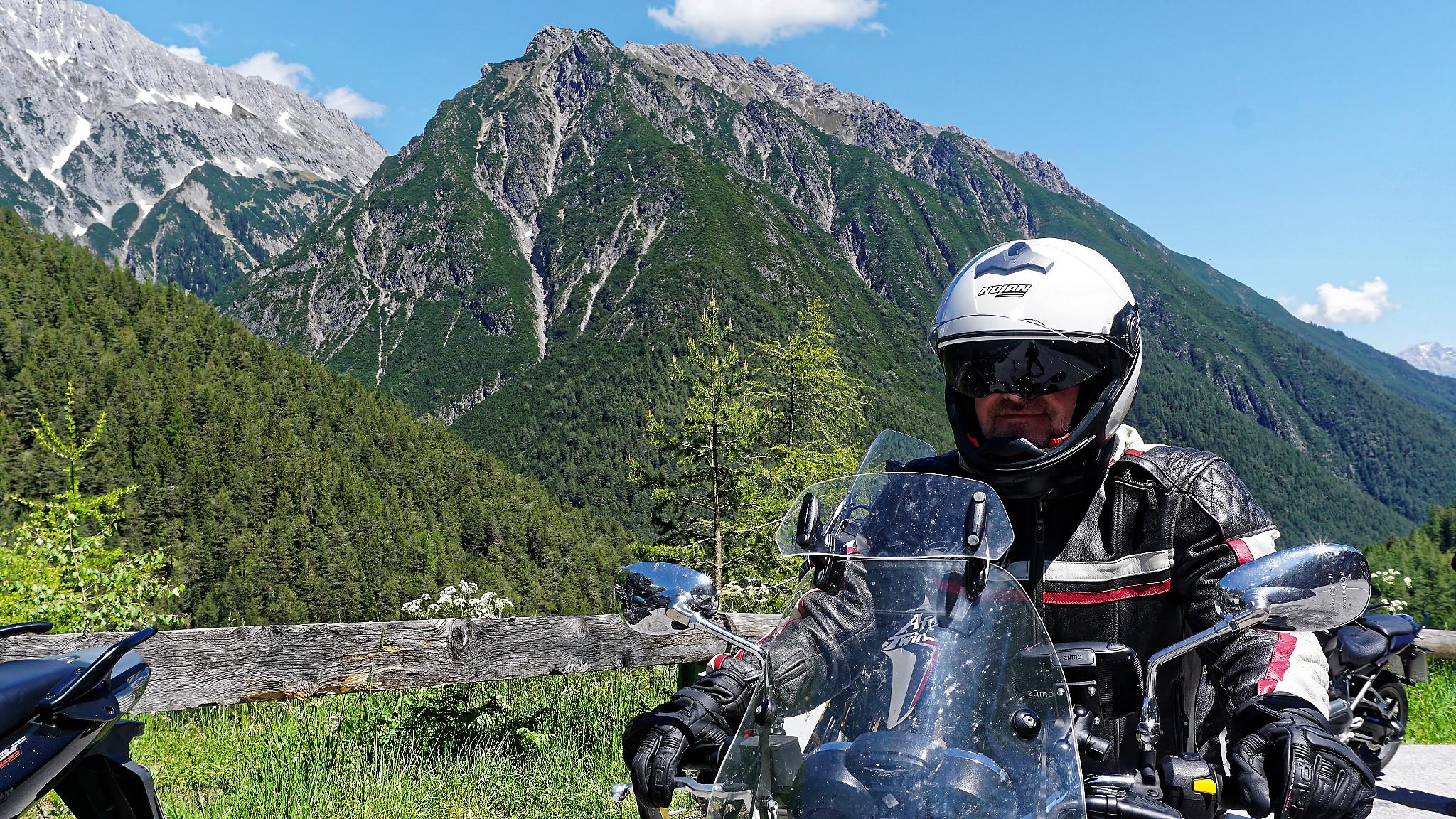 Motorradtour Hahntennjoch