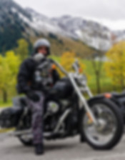Christian Winneg - Tourguide bei ROOKiE-TOURS Motorradreisen, lecker Essen in Korsika.