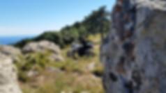 Dominik Spitz - Tourguide bei ROOKiE-TOURS Motorradreisen. Mal wieder am Abgrund in Korsika.