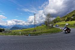 Mit der Goldwing in den Alpen