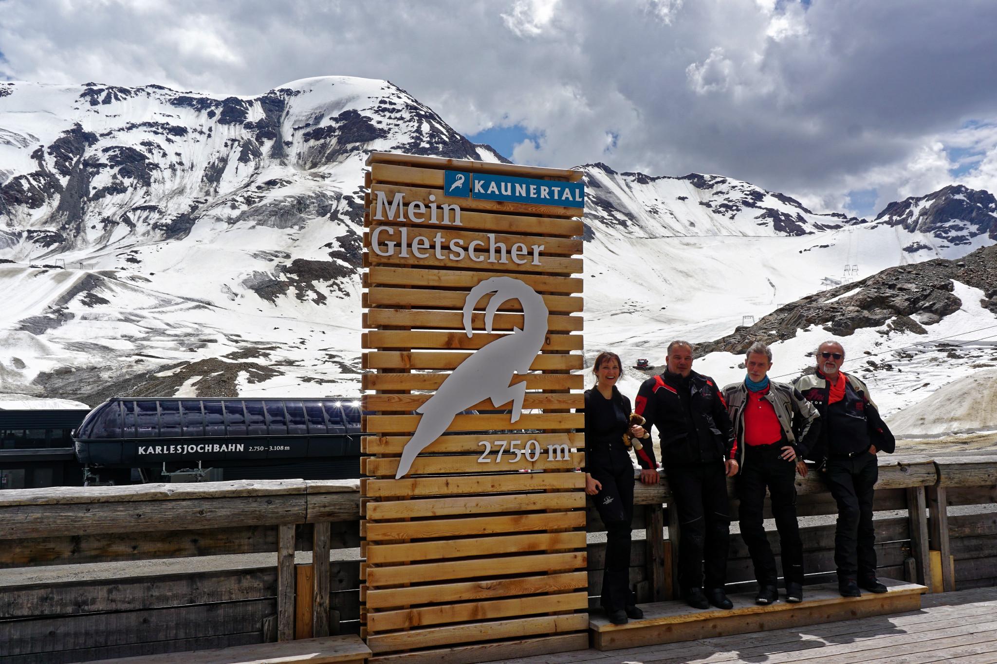ROOKiES am Kaunertaler Gletscher