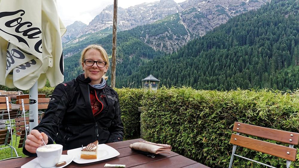 Kuchen in den Allgäuer Alpen