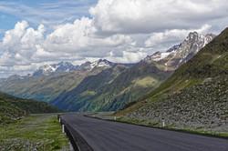 Motorradreise Kaunertaler Gletscher