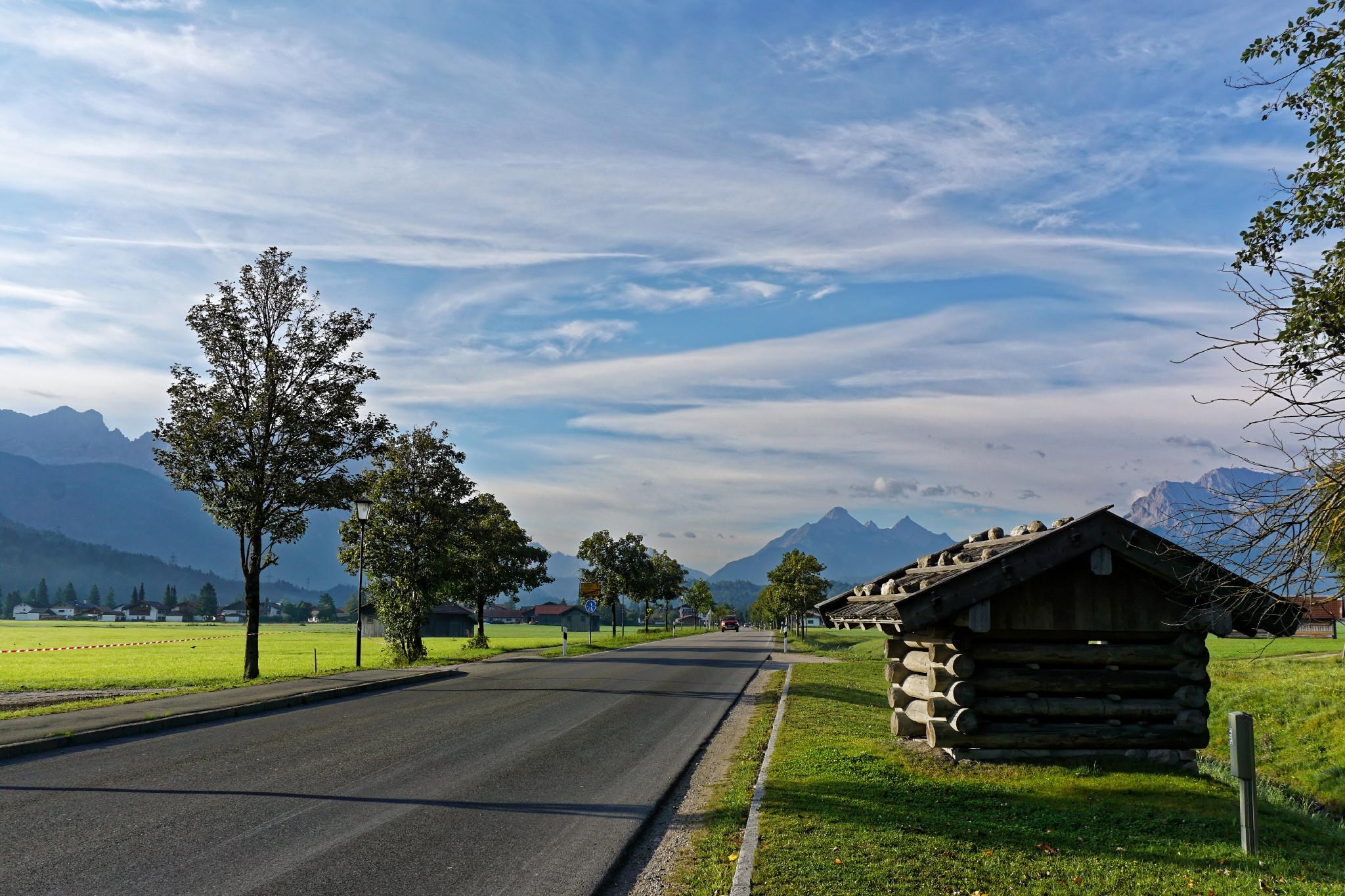 Start Motorradtour in die Alpen