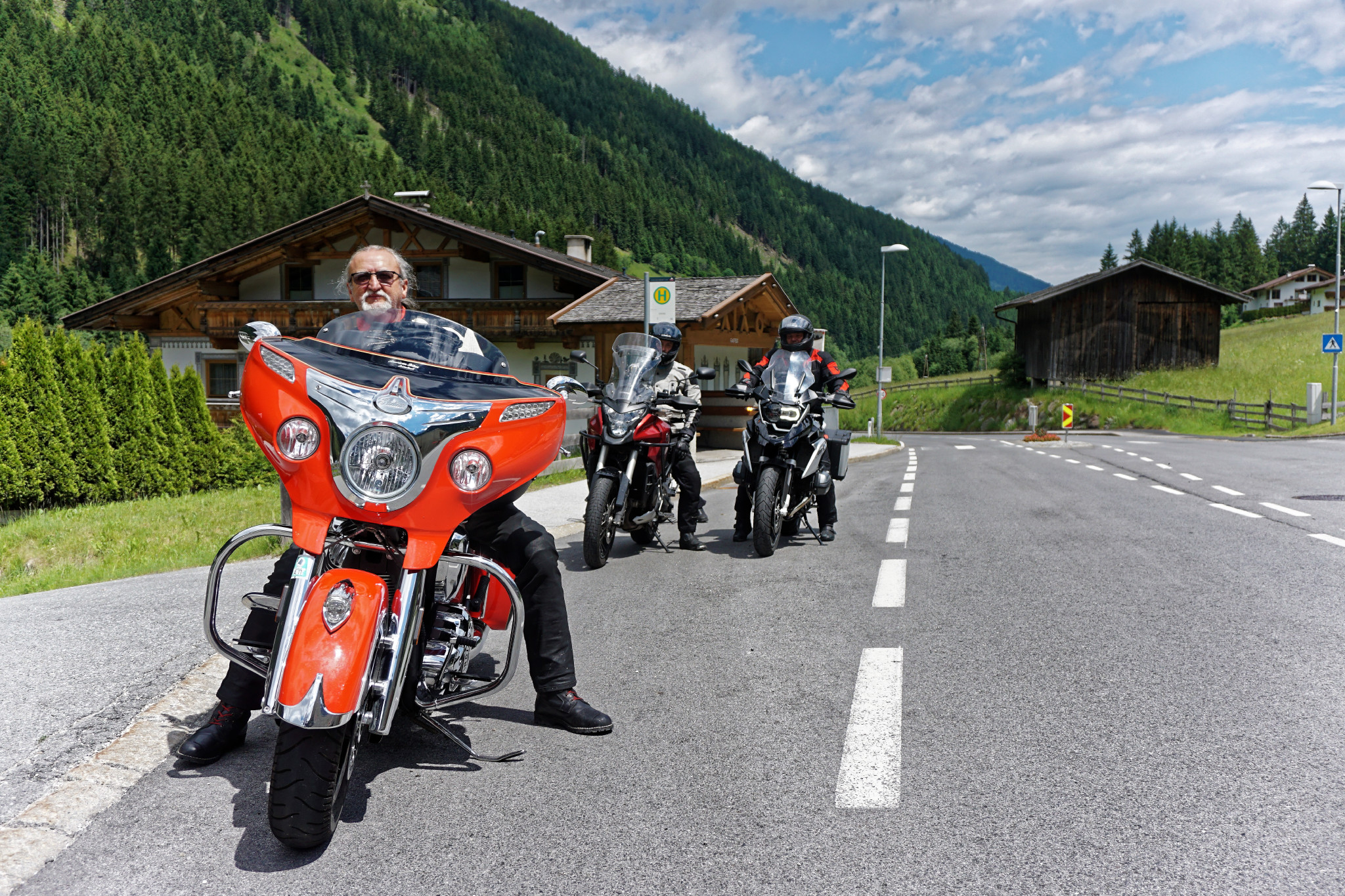 geführte Motorradtouren Österreich