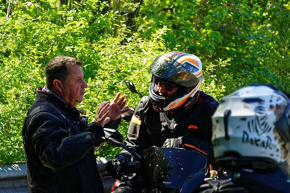 Kurventraining ROOKiE-TOURS Motorradreis