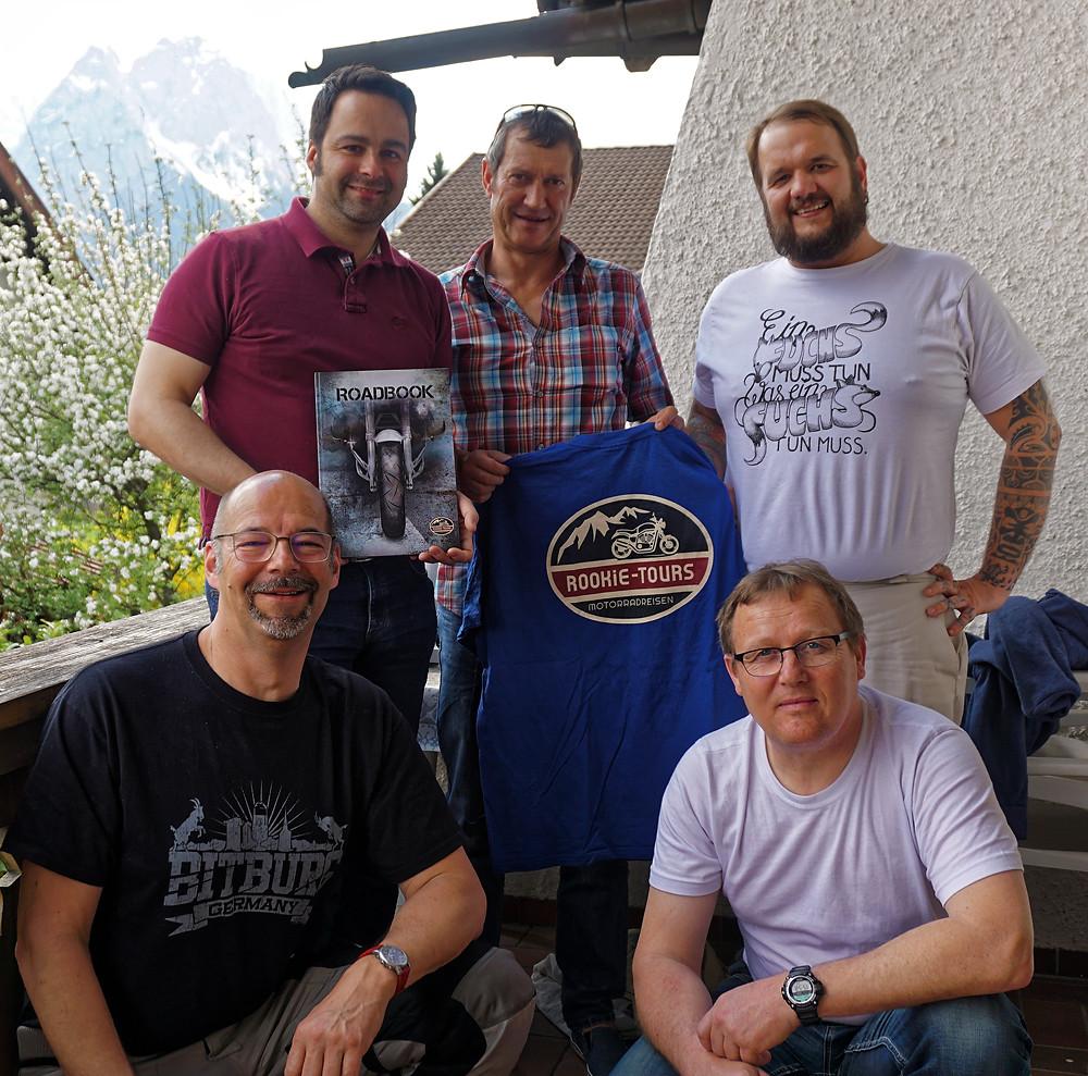 ROOKiE-TOURS Motorradreisen Team