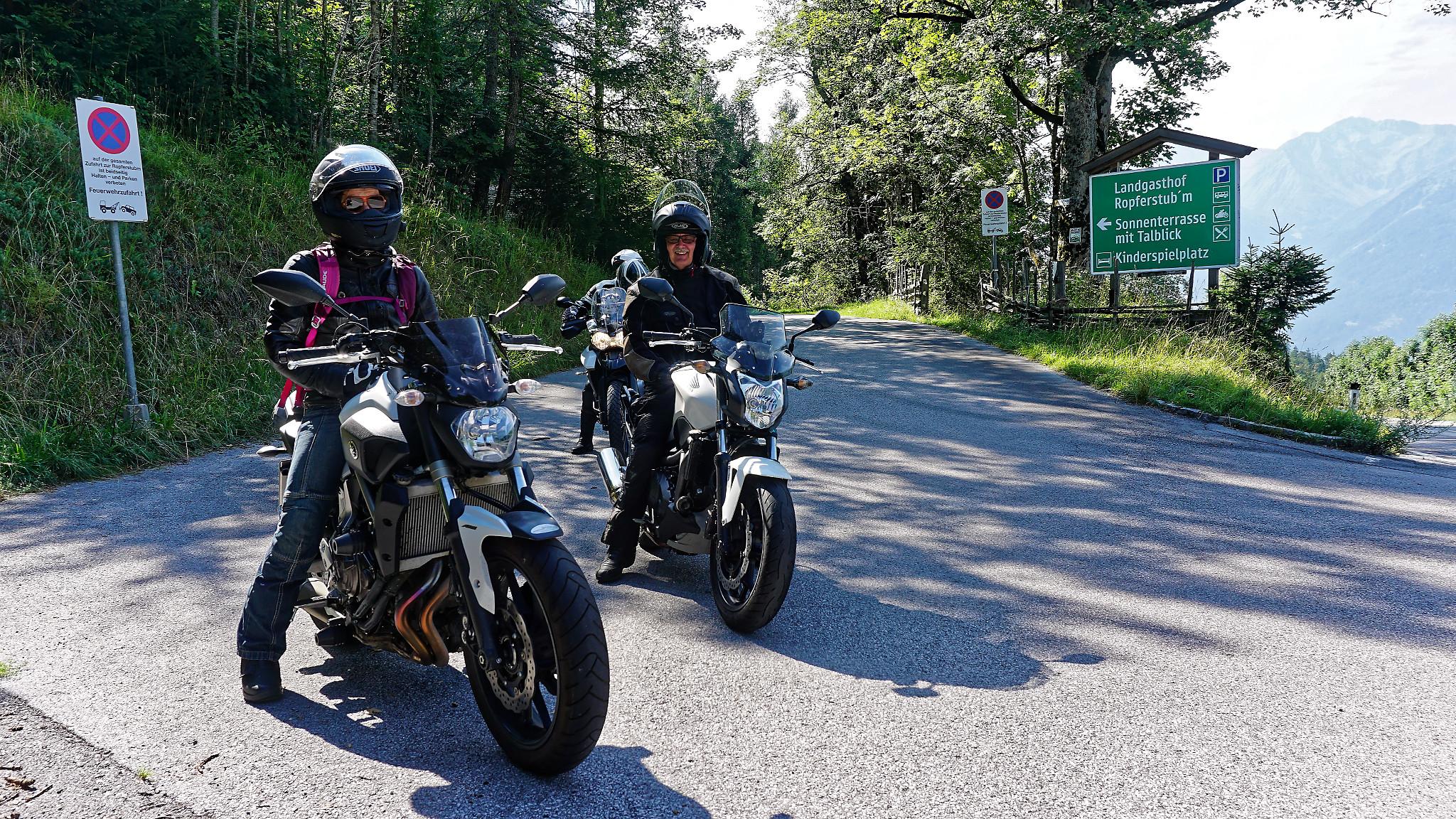 geführte Motorradreisen