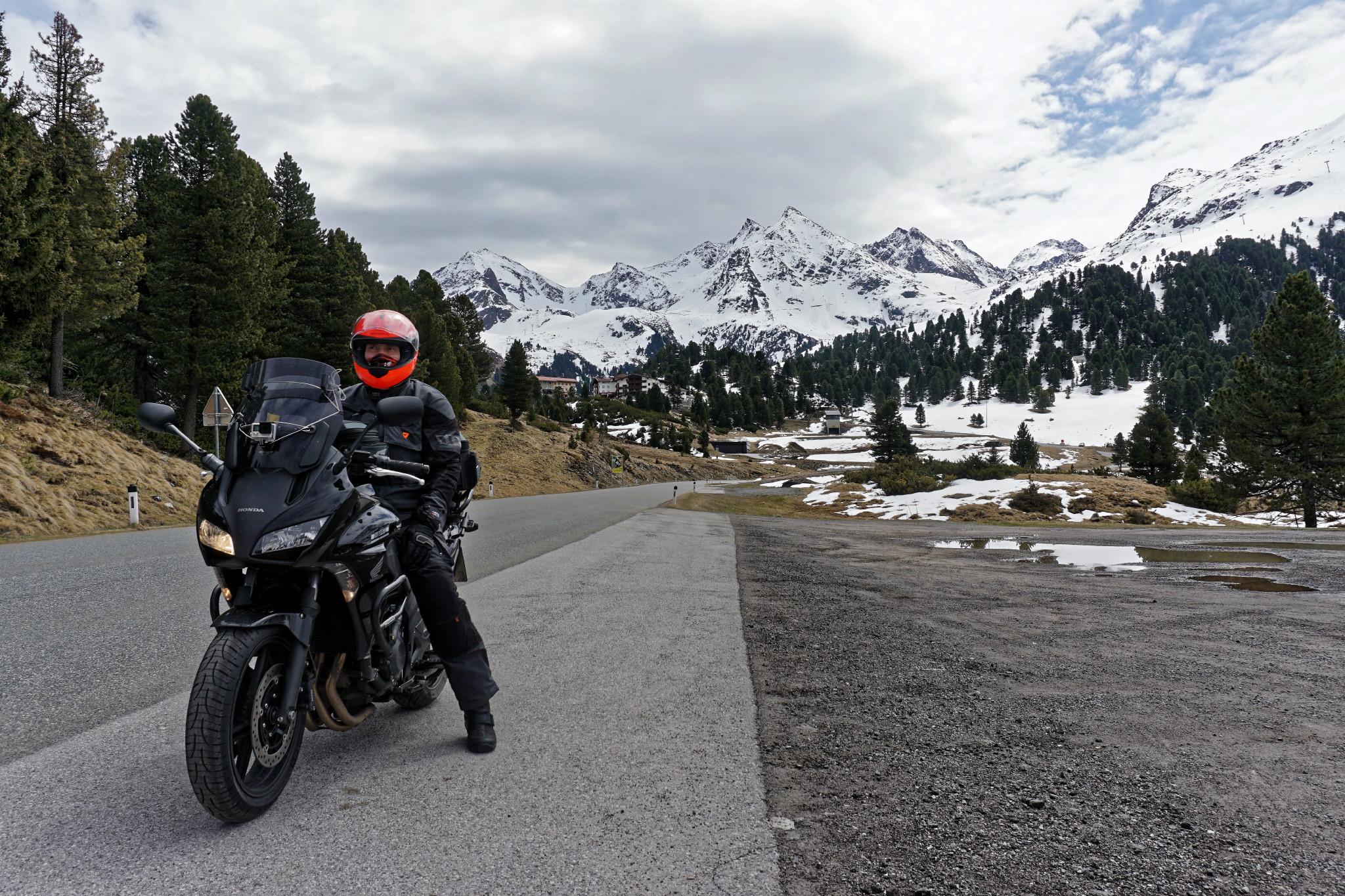 Motorradtour zum Kühtai