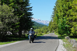Motorradtour Vorderriß
