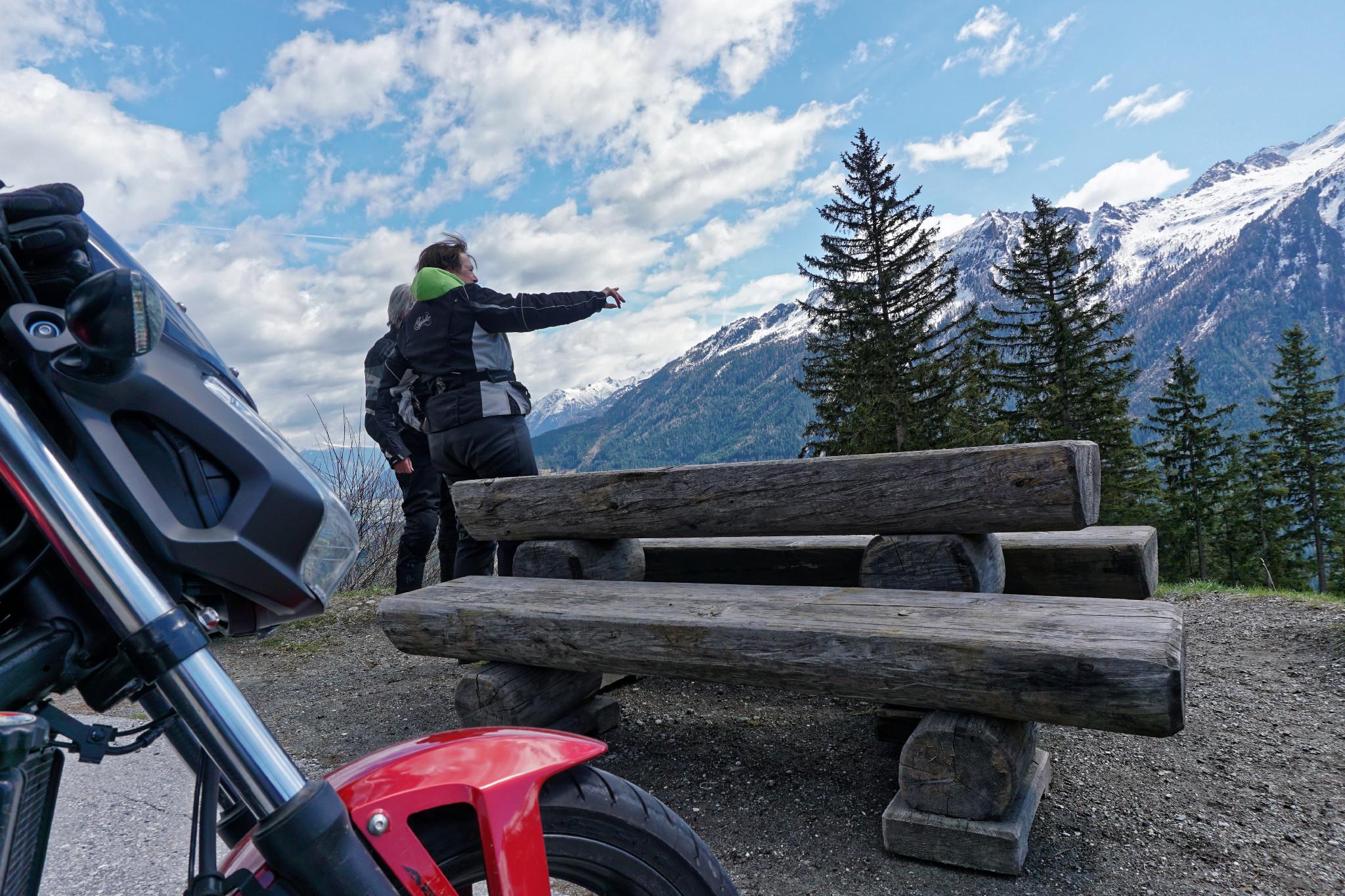 Gerlospass Motorradreise
