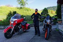 Auf geht's zur Motorradtour