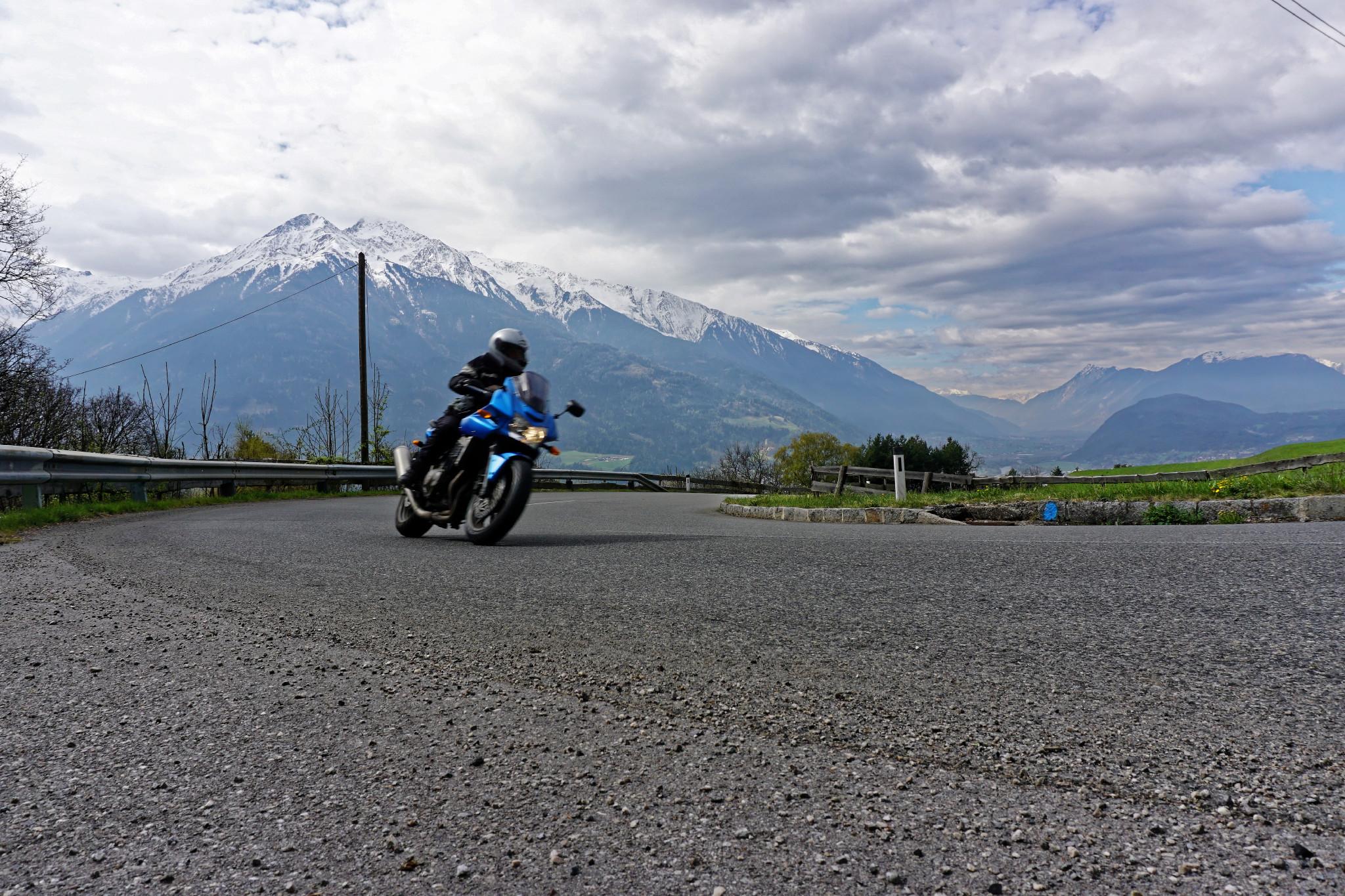 Kurventraining Motorradreise