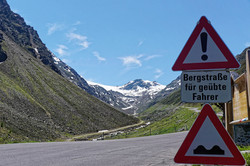 Motorradreise Ötztaler Gletscher