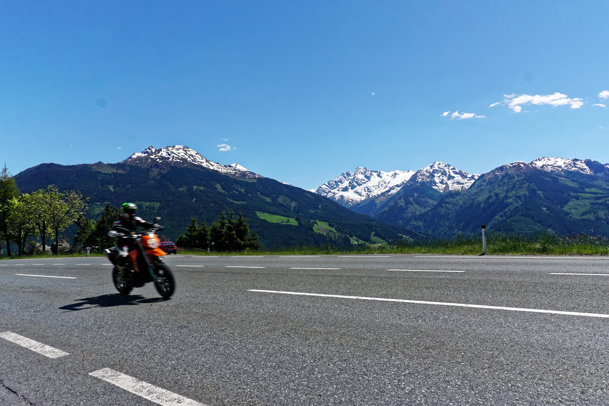 Motorradtour Pass Thurn