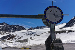 Motorradtour Gletscherblick