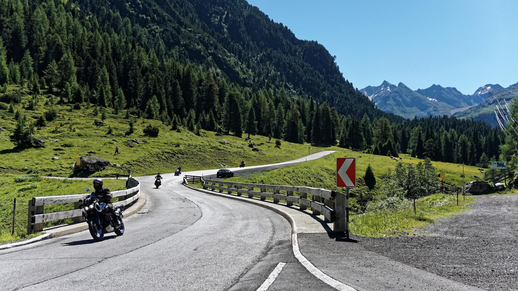 Motorradreise Sellrain