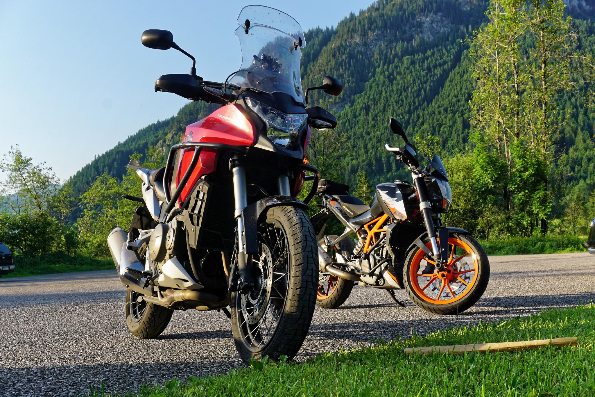 Pause Motorradtour Graswangtal