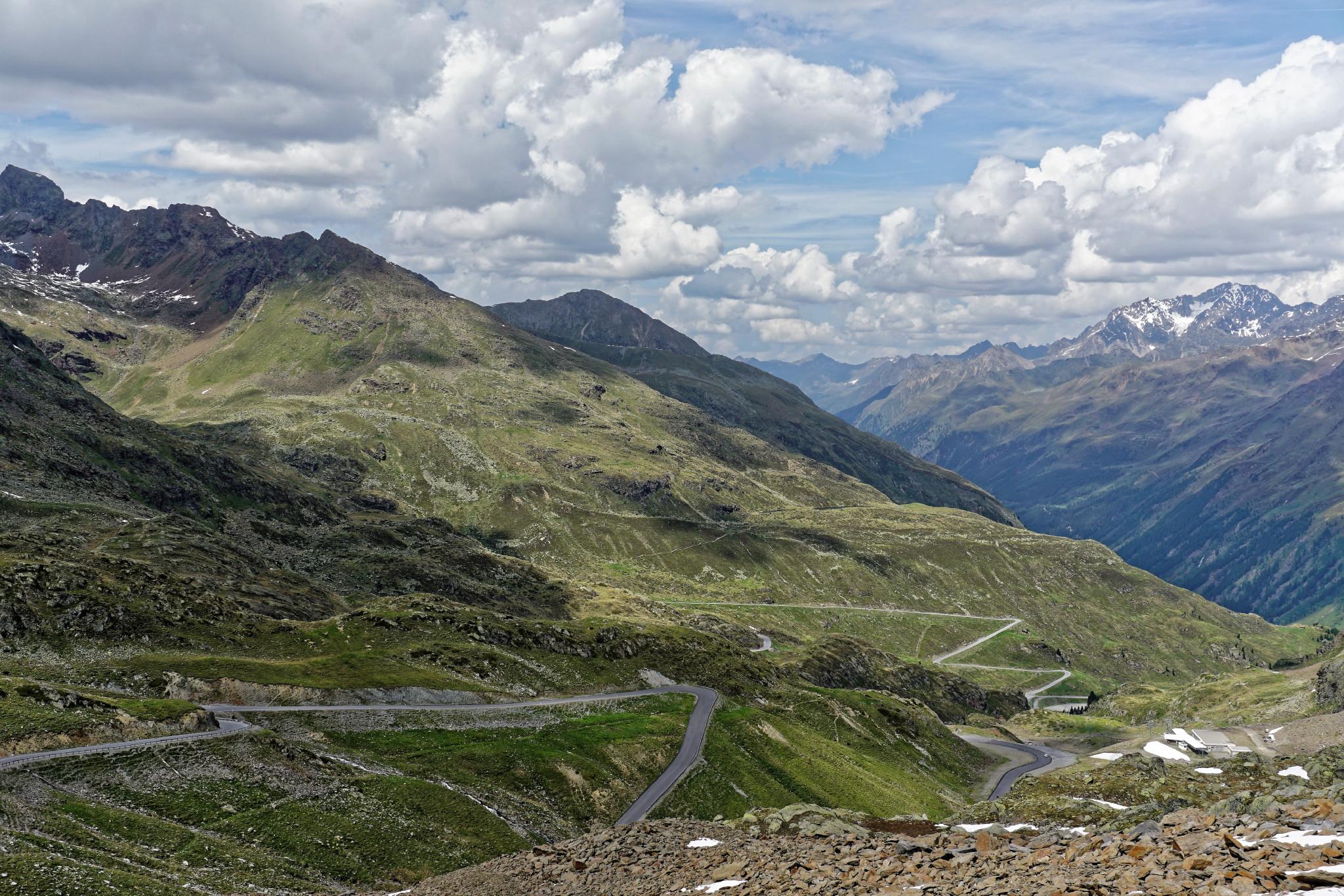 Motorradtour Kaunertaler Gletscher