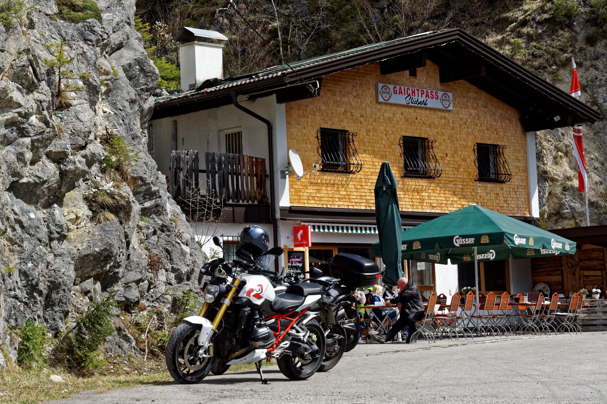 Geführte Motorradtour Gaichtpass