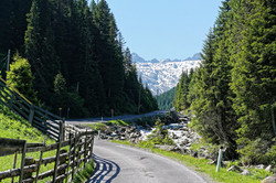 Kurvenparadies Alpen
