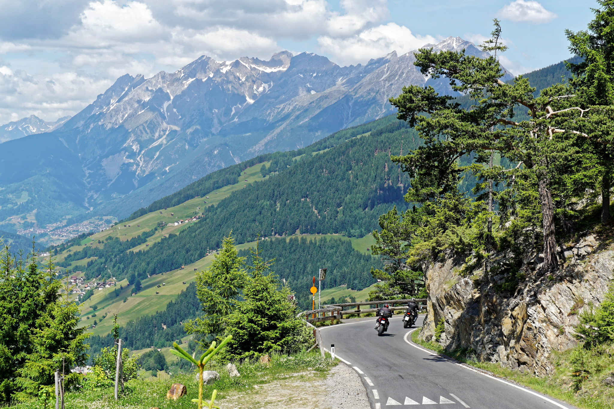 Motorradreise Piller Höhe