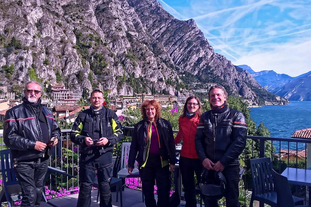 Kurventraum Trentino - Pause am Gardasee