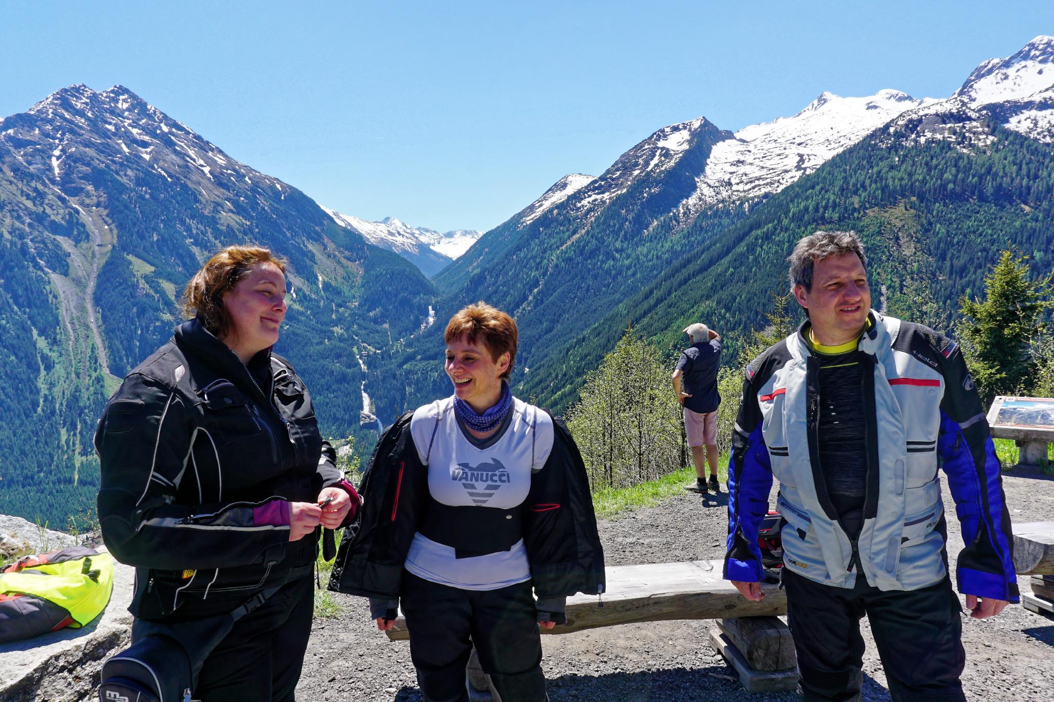 Motorradreise Krimmler Wasserfälle