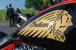 Eine Indian Big Chief im Allgäu