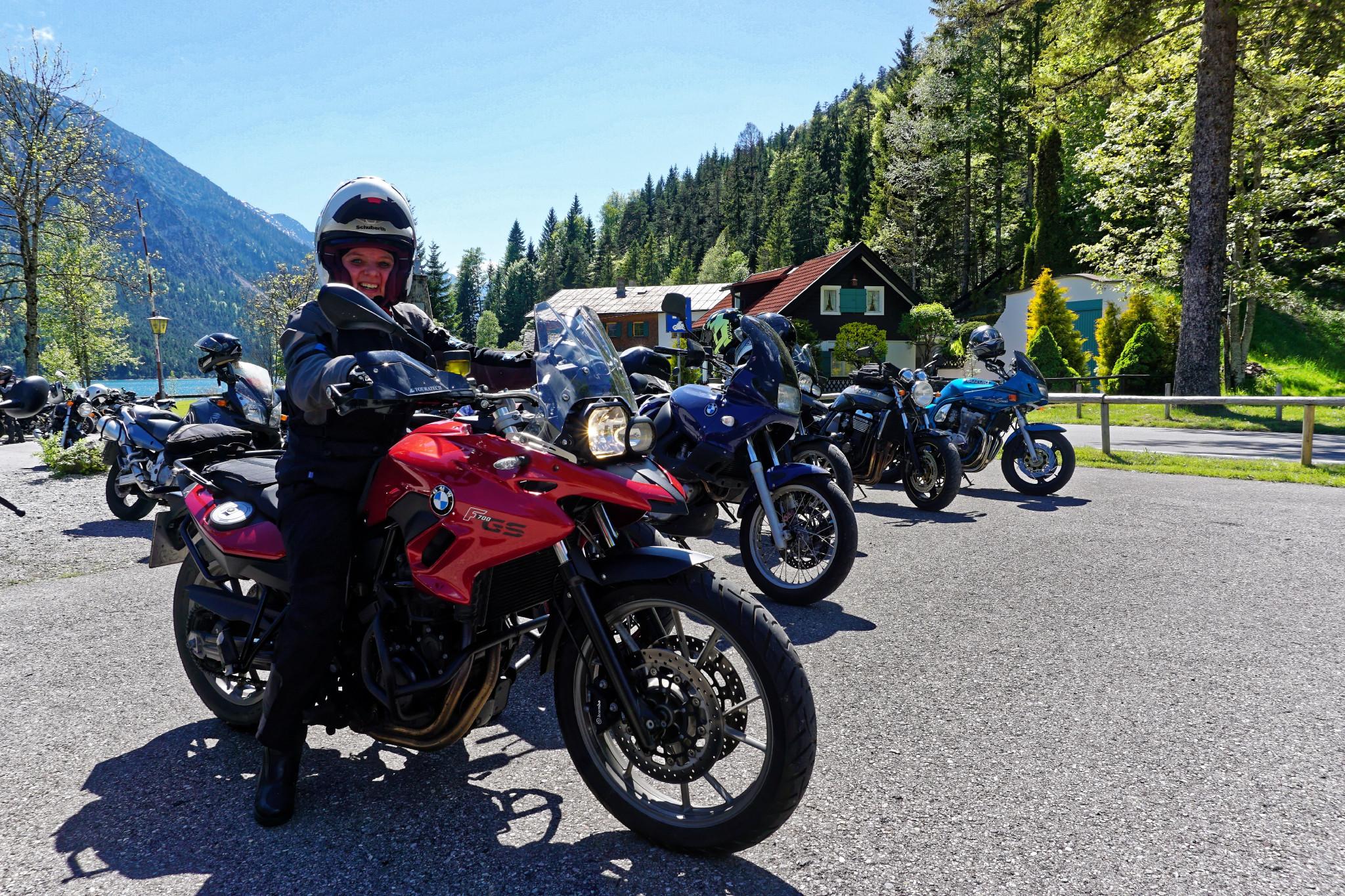 Motorradtour in Österreich