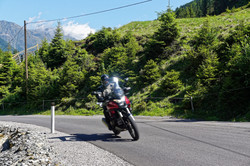 Kurvenkarussell Alpen