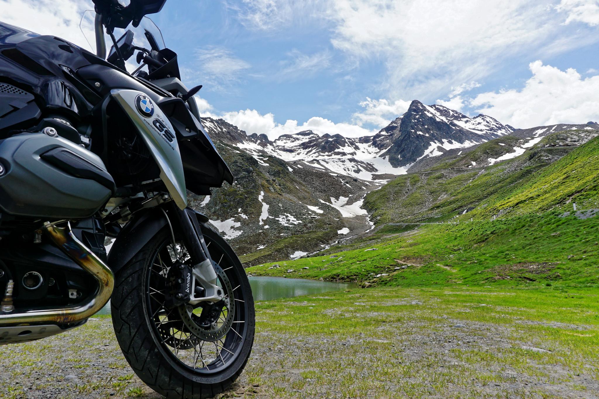 BMW R1200GS Gletschertour