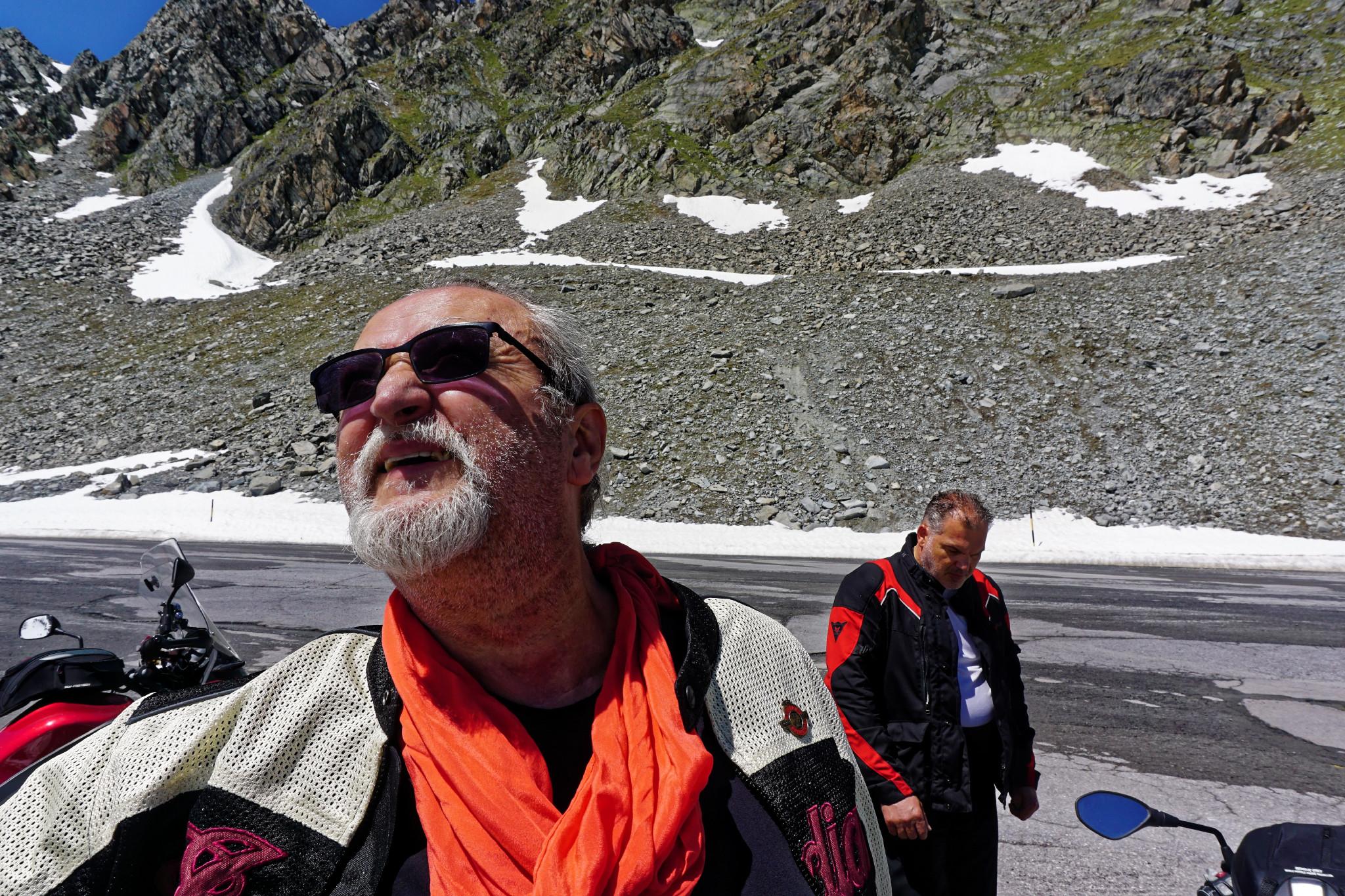 Motorradtour Gletscher