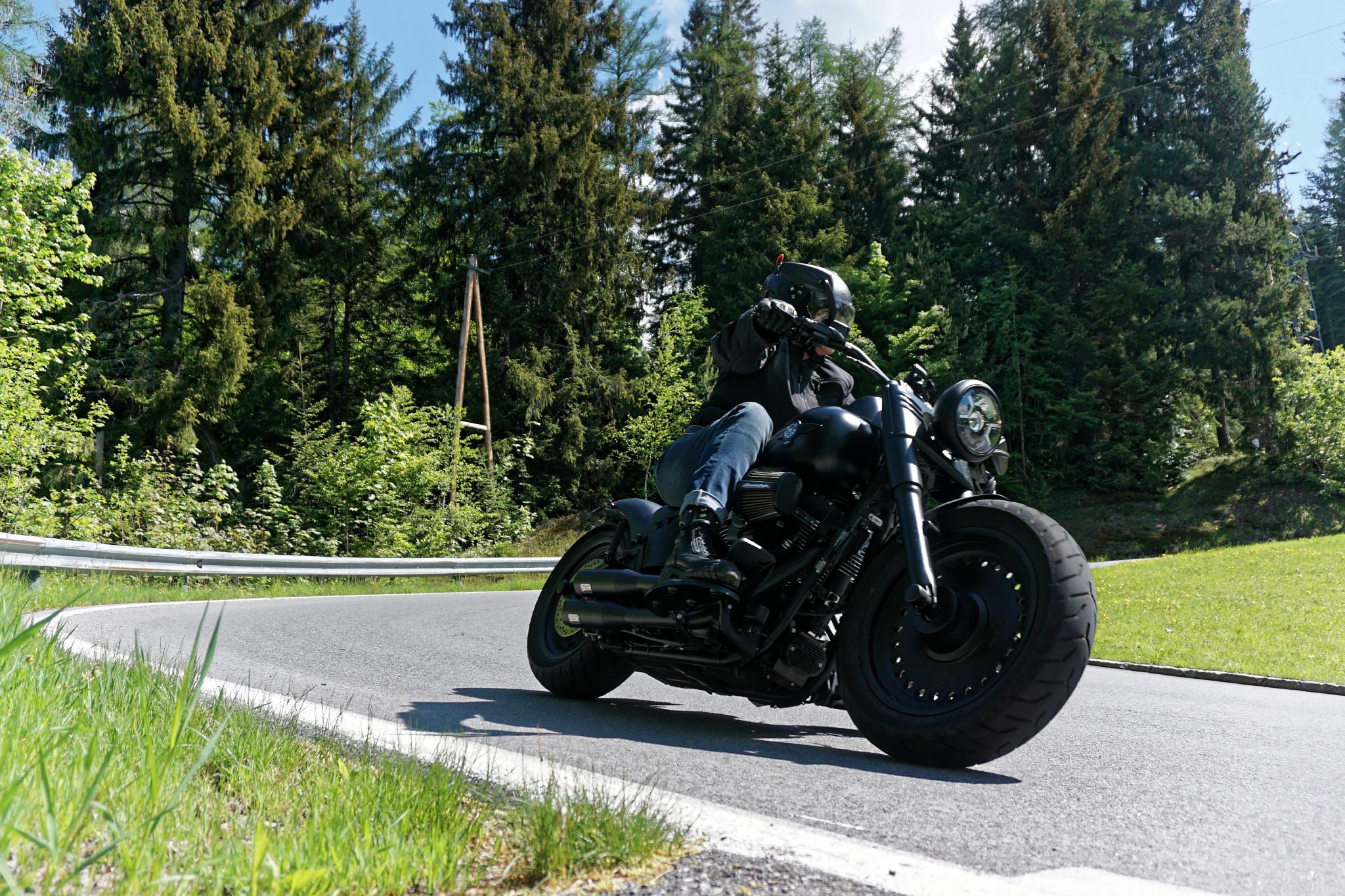 Custom Harley Alpen