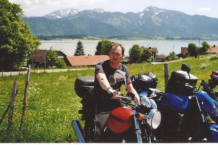 André Schmitt - Tourguide bei ROOKiE-TOURS Motorradreisen, mit seiner GSX 750
