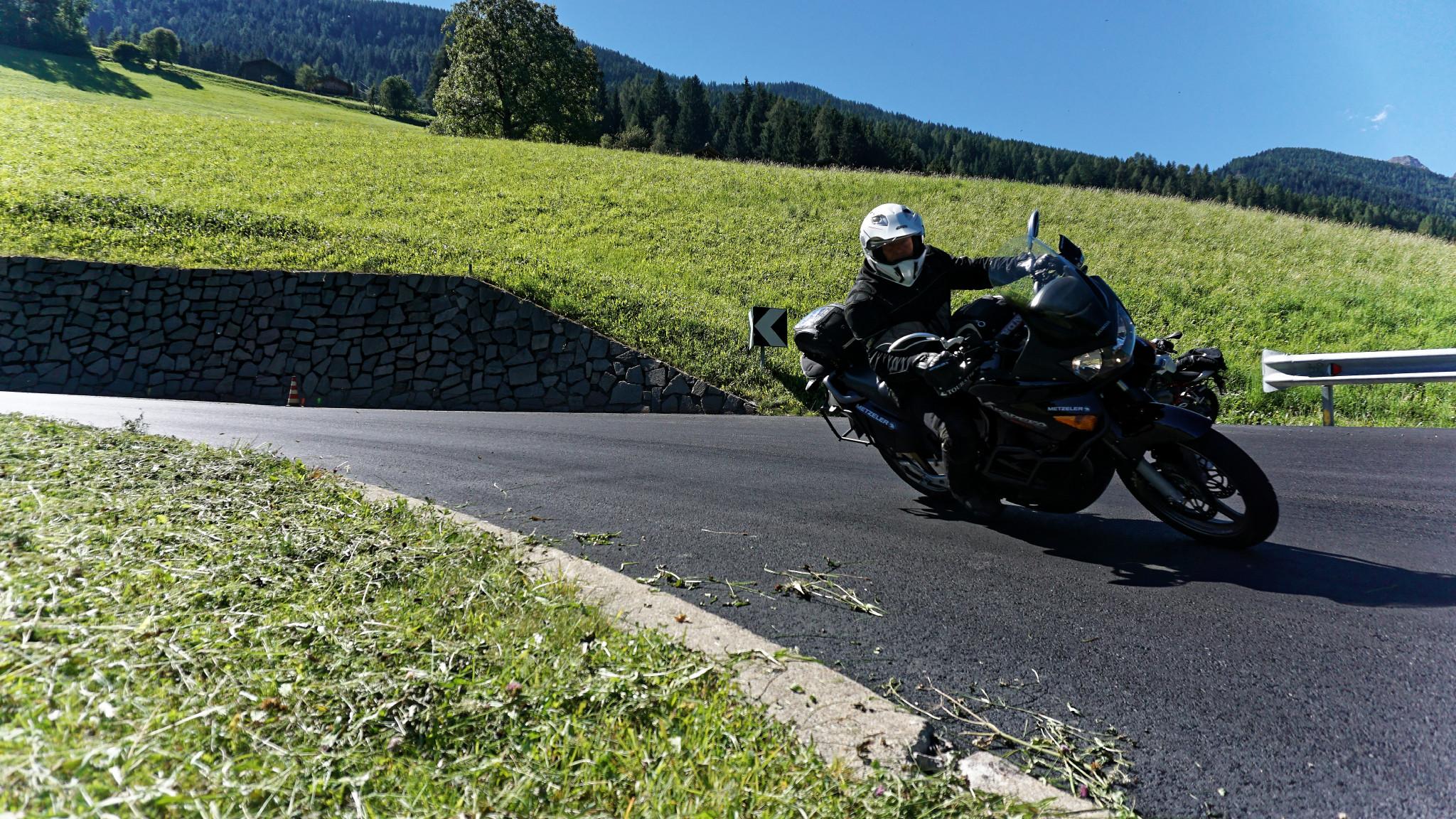 Kurt in Südtirol in Aktion