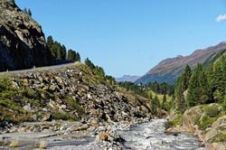 Motorradreisen zum Kaunertaler Gletscher
