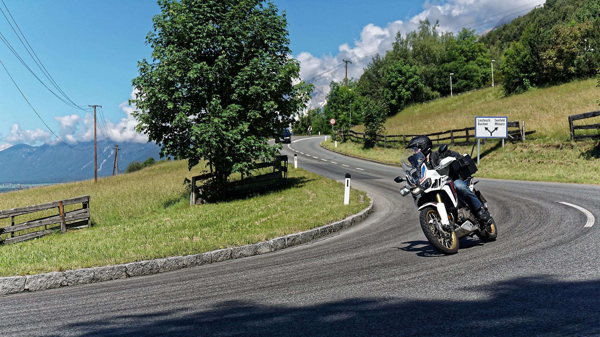 Motorradtour Tirol