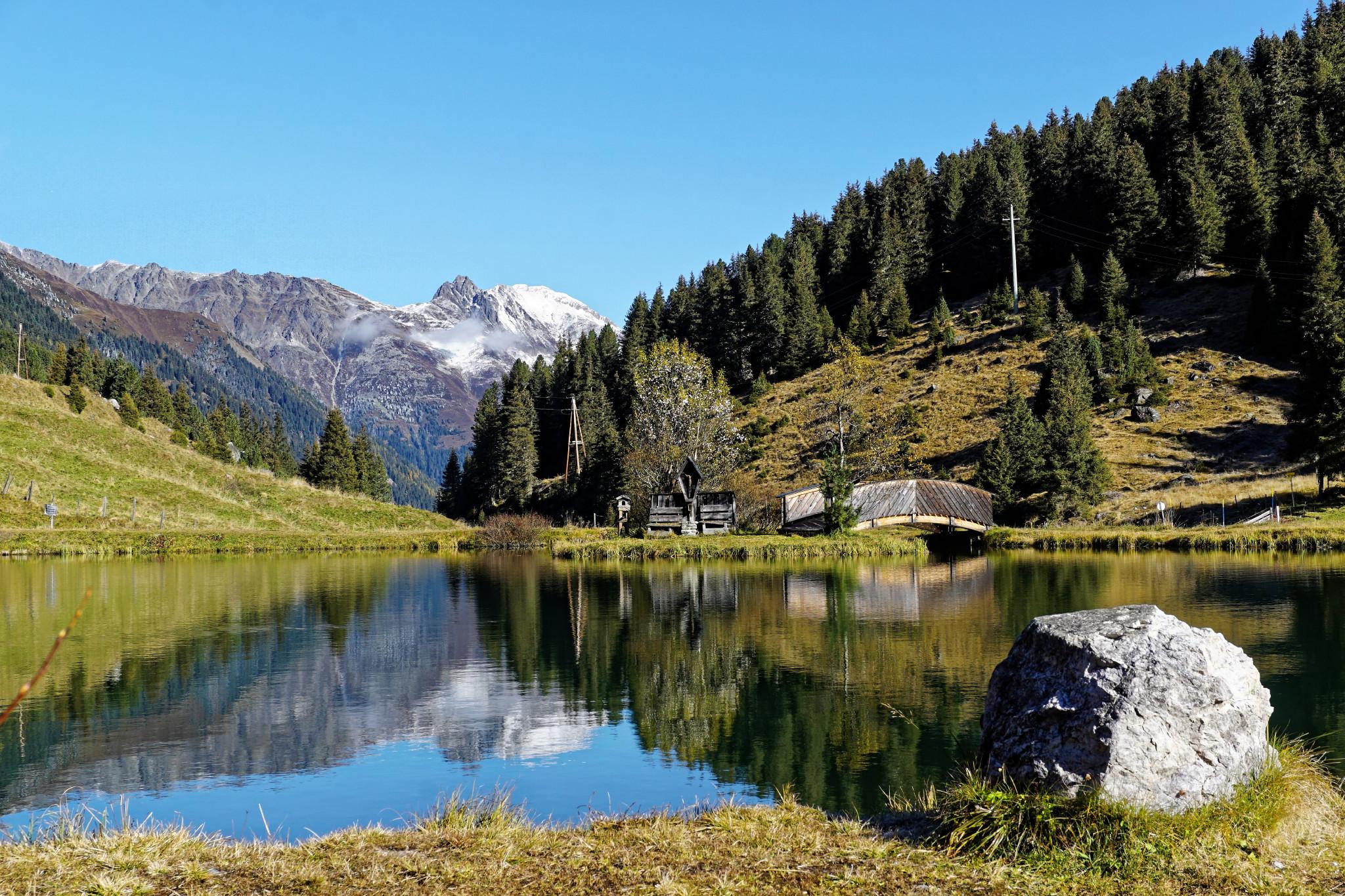 Traumhafte Alpenlandschaft