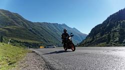 Alpen Höhenluft mit dem Motorrad