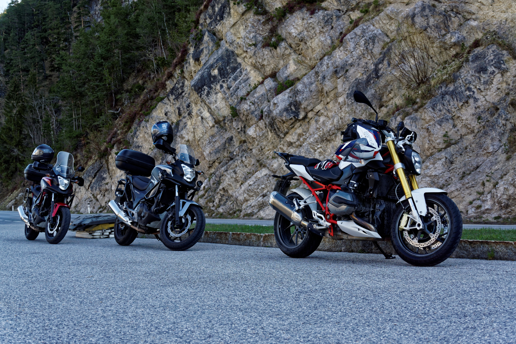Motorradtour Pause