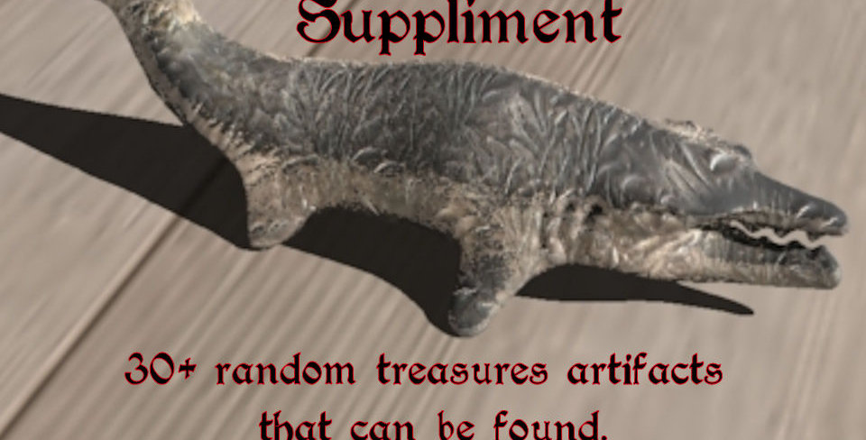 Duarf treasure Artifact - A Planet Archipelago suppliment (download)