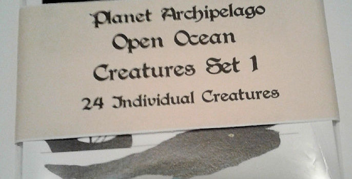Planet Archipelago Open Ocean Creature Set 1