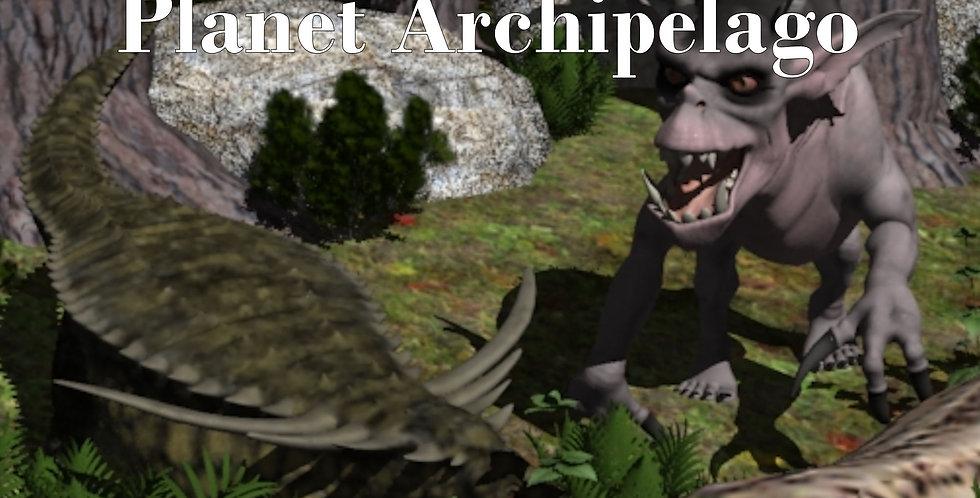 Land Creatures of Planet Archipelago