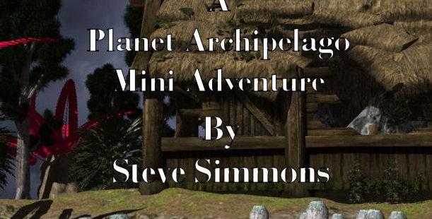 The Abandoned Cottage a Planet Archipelago mini-adventure