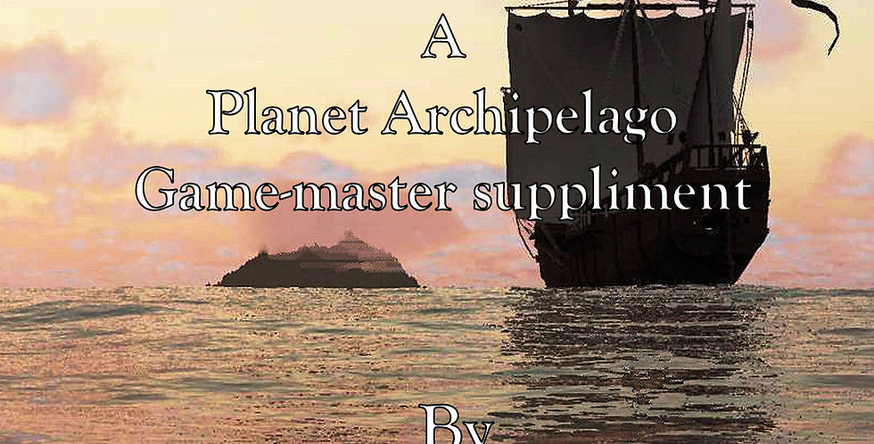 Travel Between Islands A Planet Archipelago Suppliment (Download)