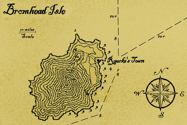 Bromhead Isle parchment map.jpg